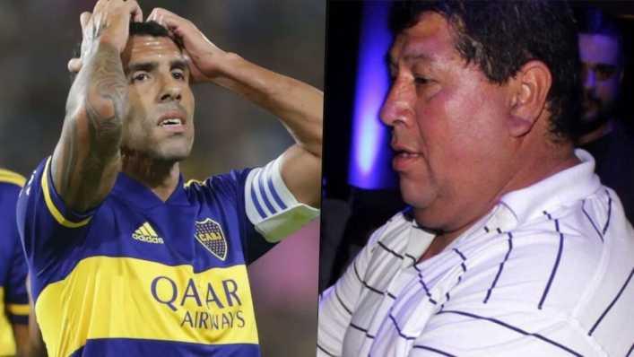 Con respirador artificial: el duro momento del padre de Carlos Tevez