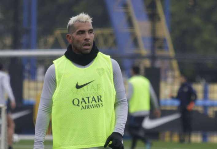 Con Tevez en el banco, Boca tiene equipo confirmado