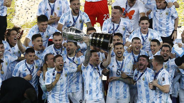 Cuando ganamos la Copa América, Juan Román Riquelme me llamó para felicitarme y me dijo que me quería mucho