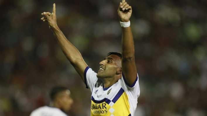¿Cuántos goles tiene Wanchope Ábila en Boca?