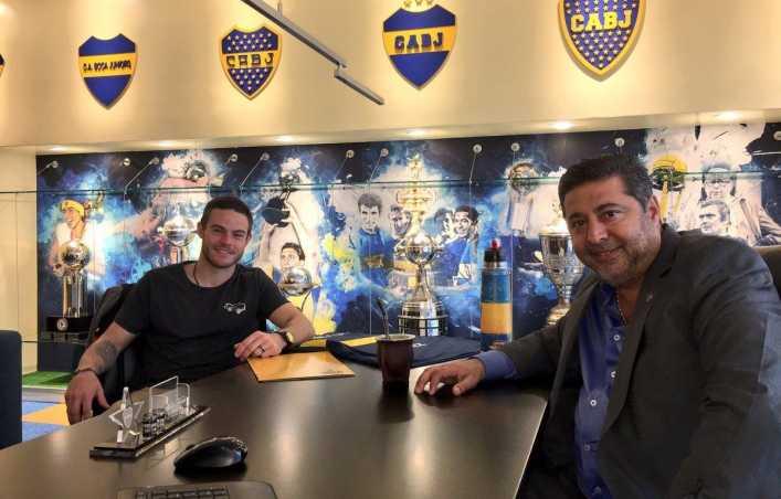Daniel Angelici se refirió al mercado de pases de Boca Juniors