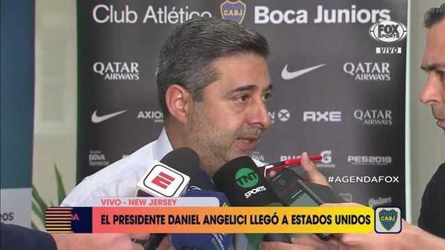 Daniel Angelici y la salida de Darío Benedetto