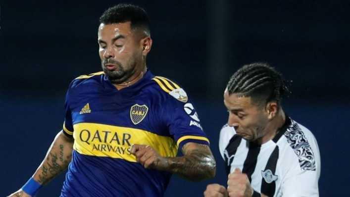 Edwin Cardona reapareció con Boca Juniors e hizo magistral pase gol