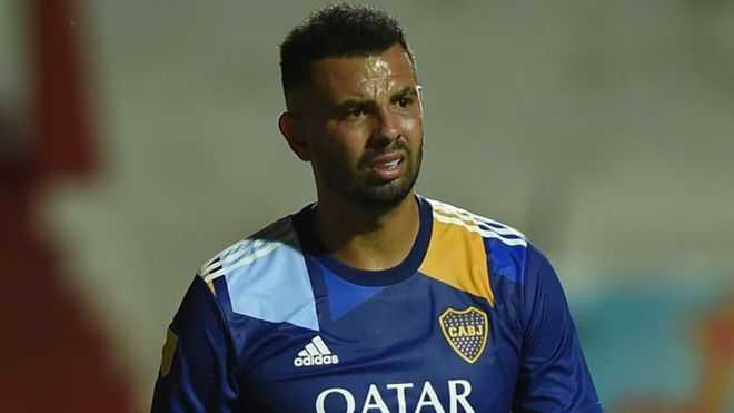 Edwin Cardona y su complicada situación en Boca Juniors