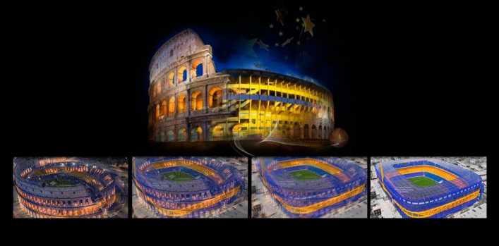 El Coliseo se convierte en la Bombonera