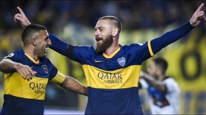El curioso número que usaría De Rossi en la Copa Libertadores