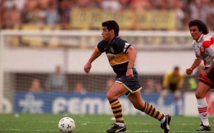 El día que Maradona jugó su último partido con Boca Juniors