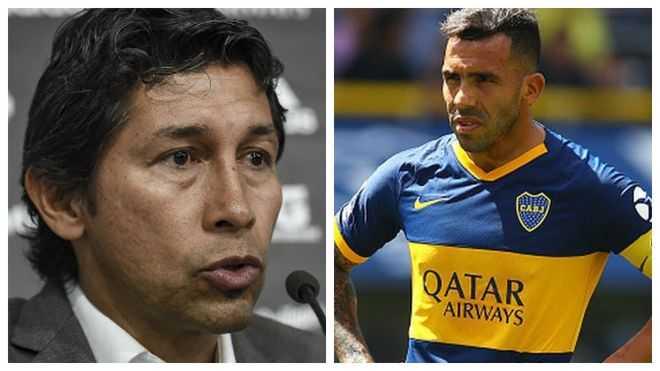 El fuerte rifirrafe entre Jorge Bermúdez y Carlos Tévez