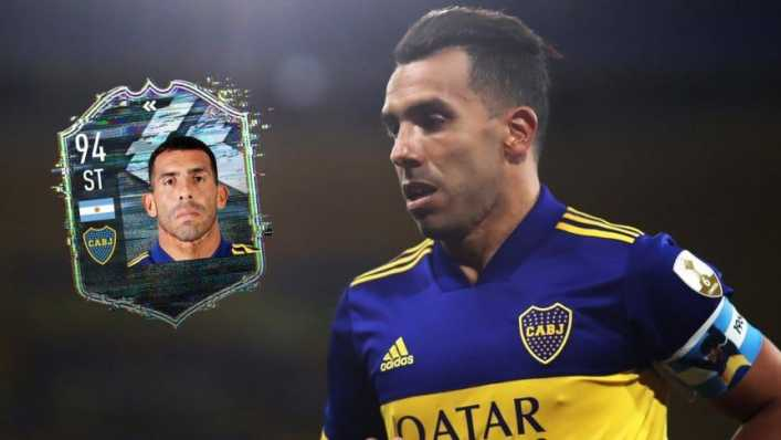 El gran homenaje de FIFA 21 a Carlos Tevez, hasta con dedicatoria a River