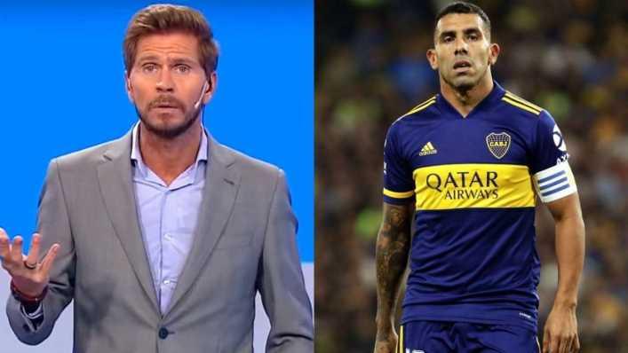El Pollo Vignolo volvió a pedir a Tevez para la Selección: Contra Paraguay no desentonaba