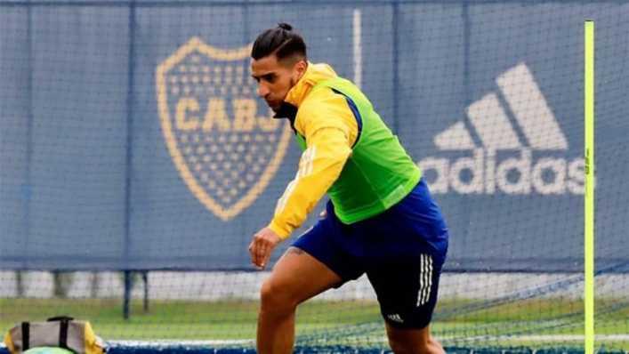 El Pulpo González debutará el domingo en Boca ante Talleres