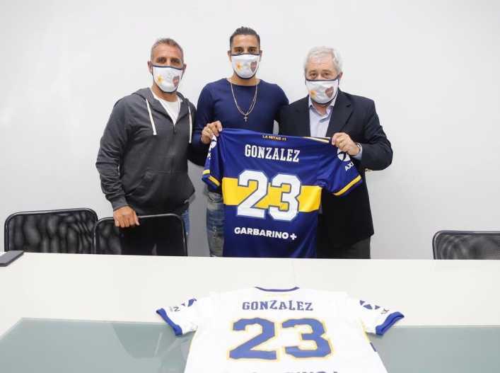 El Pulpo González es refuerzo del Xeneize