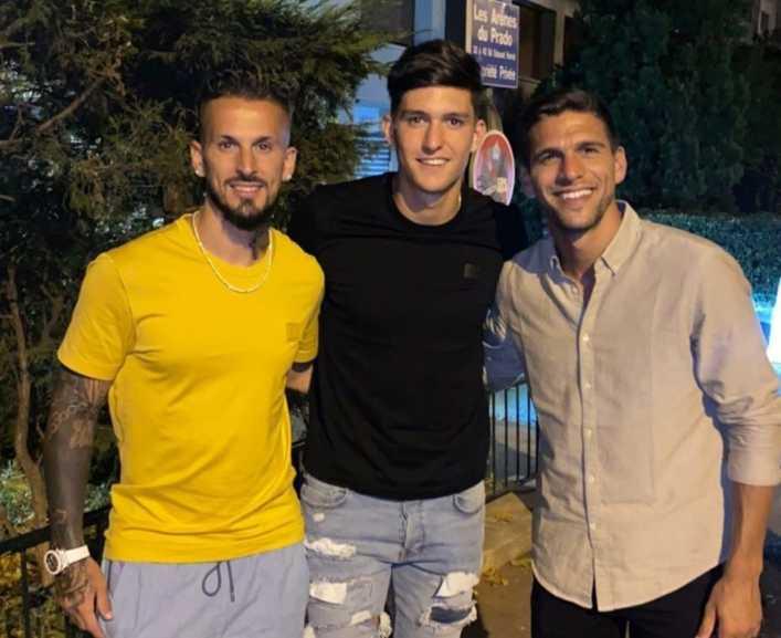 El reencuentro de tres ex Boca en Europa