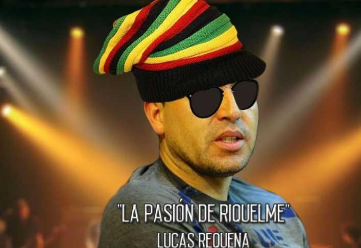 El reggae de Riquelme, con Vignolo como protagonista