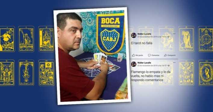 El tarotista de Boca: pronóstico bomba para River-Palmeiras