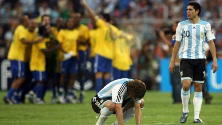 El último antecedente entre Argentina y Brasil por Copa América