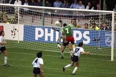 El último debut con derrota de Argentina