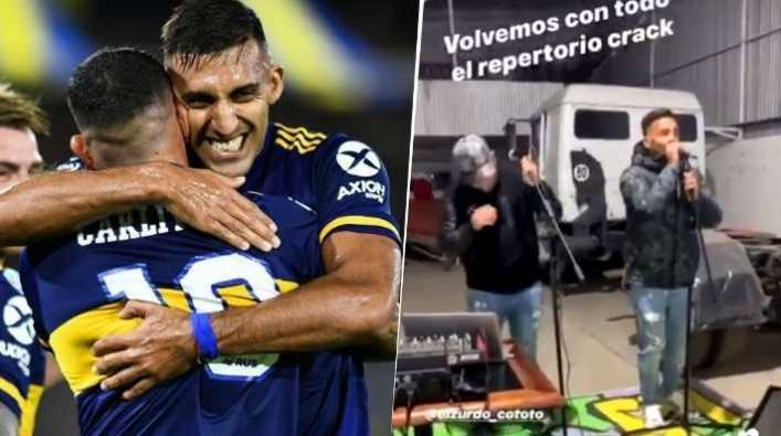 El videazo de Tevez que subió Wanchope a Instagram