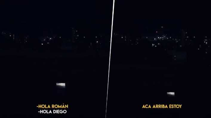 El video de Maradona que más nos hizo llorar: Acá arriba estoy, Román