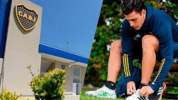 En medio del escándalo, Cristian Pavón volvió a entrenarse con Boca