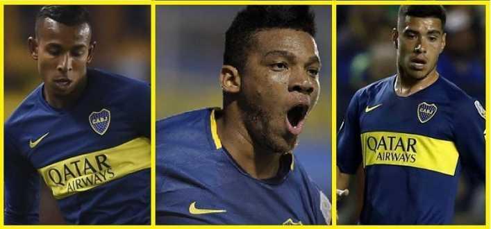 Fabra, Olaza y Villa ¿quién no tiene lugar en Boca?