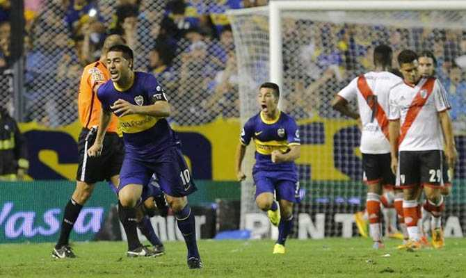 VIDEO: Los goles de Riquelme a River
