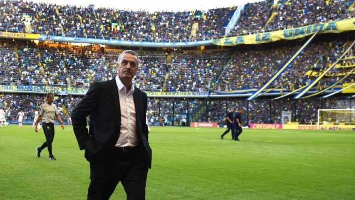 Gustavo Alfaro vuelve a La Bombonera: así le fue en cancha de Boca