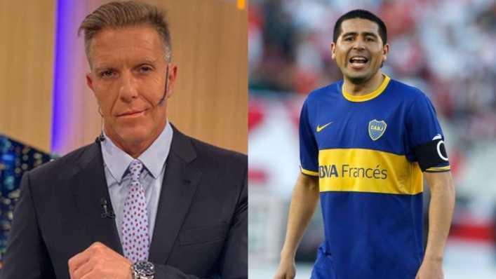 La arriesgada promesa de Fantino: Si Boca gana la Copa me tatúo a Riquelme y a Tevez