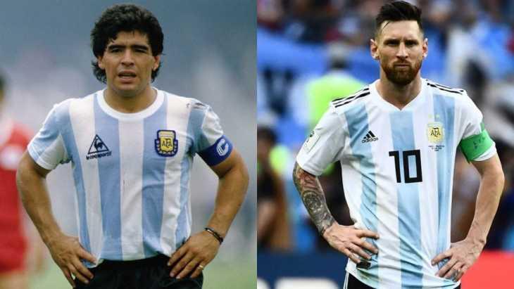 La brutal canción de Argentina: Messi, Maradona y hasta Don Diego