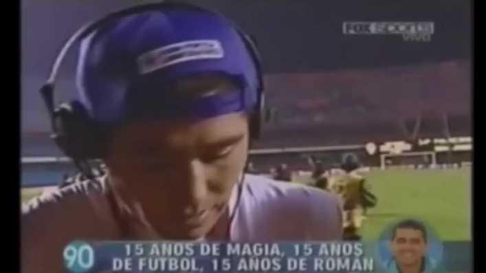 La curiosa conversación de Riquelme y Maradona tras la victoria de Boca Juniors