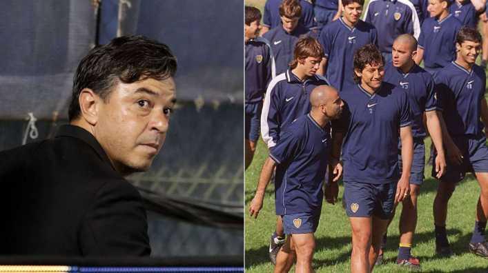 La dura crítica a Marcelo Gallardo por parte de un futbolista clave del Boca de Bianchi
