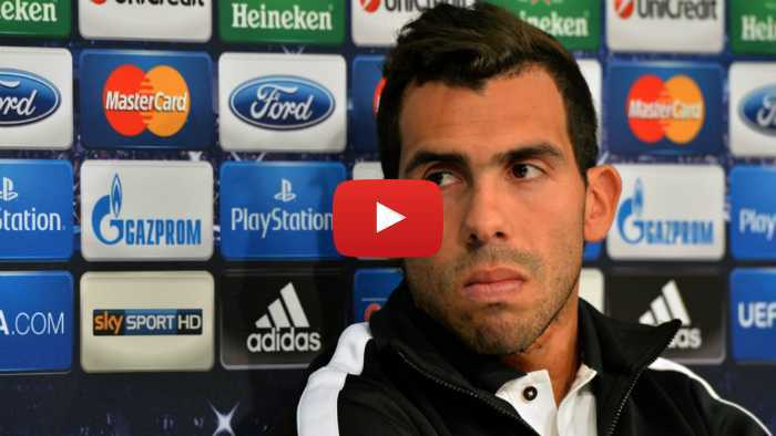 VIDEO: La dura vida de Carlos Tévez