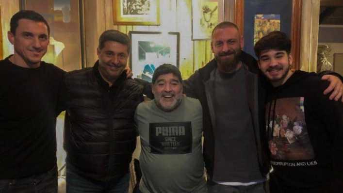 La emoción de Daniele De Rossi cuando recordó a Diego Maradona