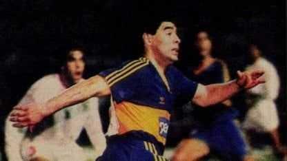 La fugaz vuelta de Maradona a Boca: un amistoso con Sevilla, un tiempo para cada lado y un gol silencioso