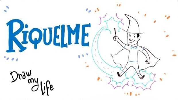 VIDEO: La vida de Riquelme en dibujos animados