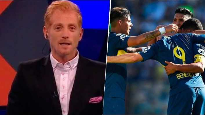 Liberman se enojó con un jugador del Boca de Alfaro