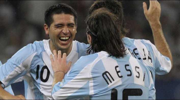 Lo dijo Aimar: el punto en que son iguales Riquelme y Messi