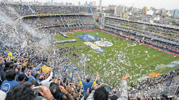 Lo gritamos todos: así se vivió el gol de Maradona a Inglaterra en La Bombonera