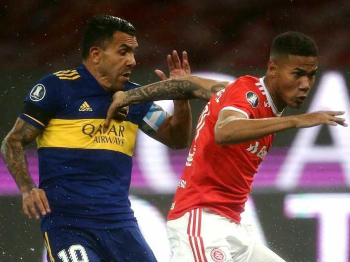 ¡Lo vieron de cerca! Boca va a la carga por una de las figuras de Inter de Porto Alegre