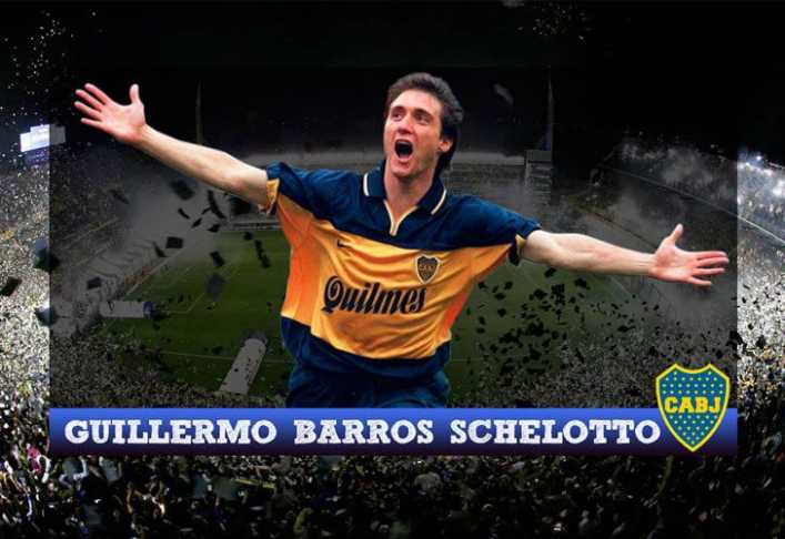VIDEO: Los goles de Barros Schelotto a River