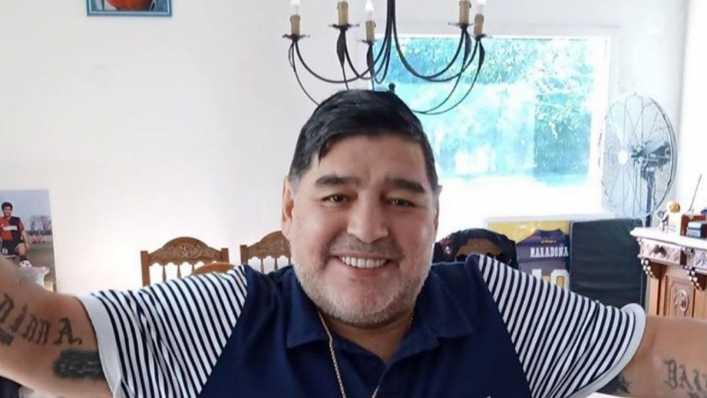 Maradona celebrará sus 60 años con un acto solidario