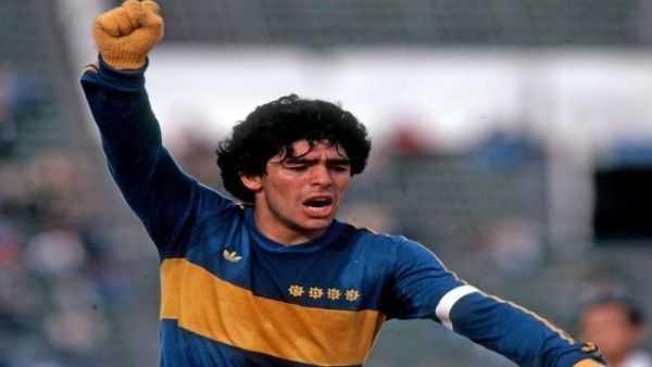 Maradona felicita a Boca Juniors en su 114 aniversario