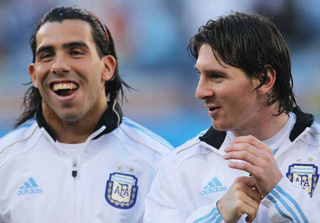messi tevez hablan sobre final champions league