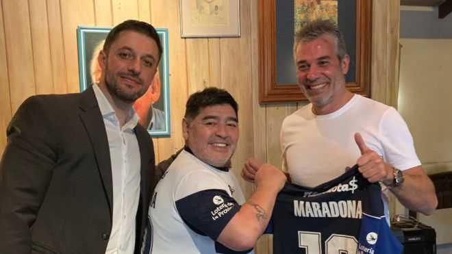 Oficial: Diego Maradona, nuevo entrenador de Gimnasia