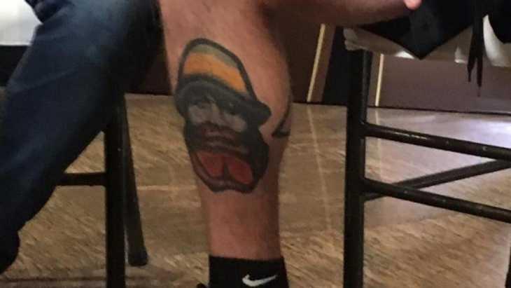 Parece un piluso de Boca pero no lo es: qué significa el tatuaje que tiene De Rossi