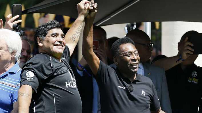 Pelé, a corazón abierto: Te amo, Diego