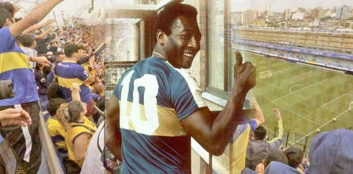 ¿Por qué Pelé es hincha de Boca?
