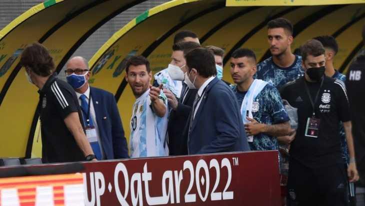 ¿Por qué se suspendió el partido entre Brasil y Argentina?