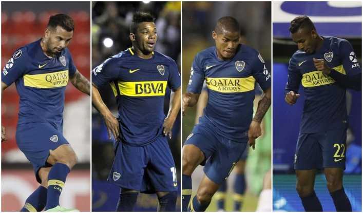 Presidente de Boca Juniors anticipó salida de Colombianos en diciembre