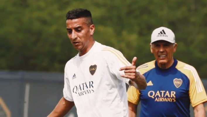 Pulpito González, activo en las redes sociales antes de su posible debut en Boca
